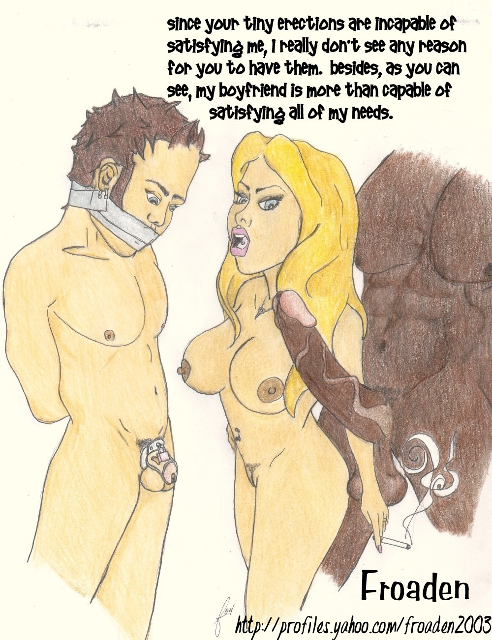 Very Hotttt cartoon male chastity